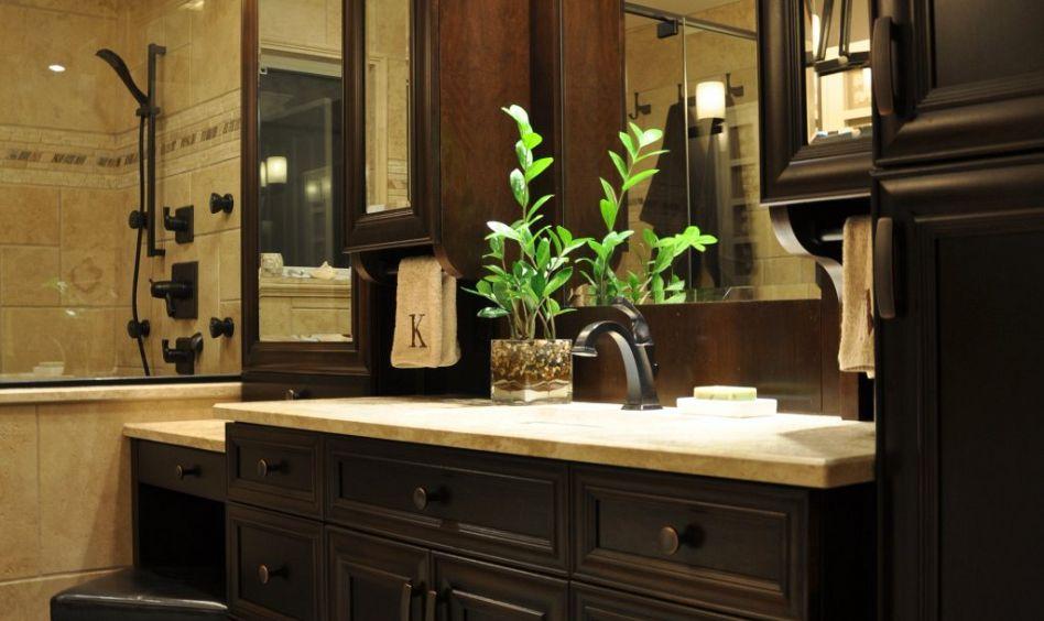 R alisations cuisine salle de bain meuble sur mesure creationunik - Salle de bain classique ...